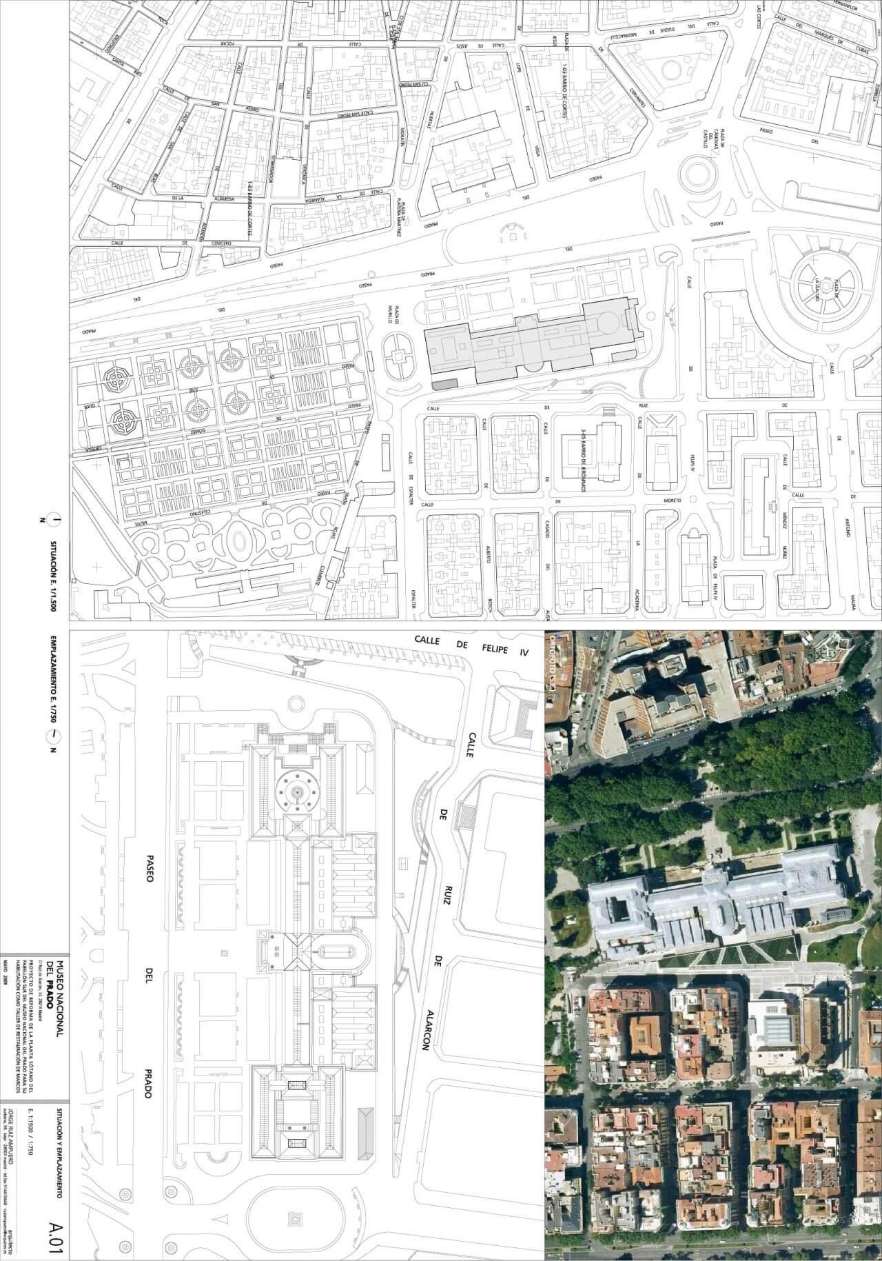 MARIA G. DE LAMO TALLER DE MARCOS, MUSEO DEL PRADO. MADRID.